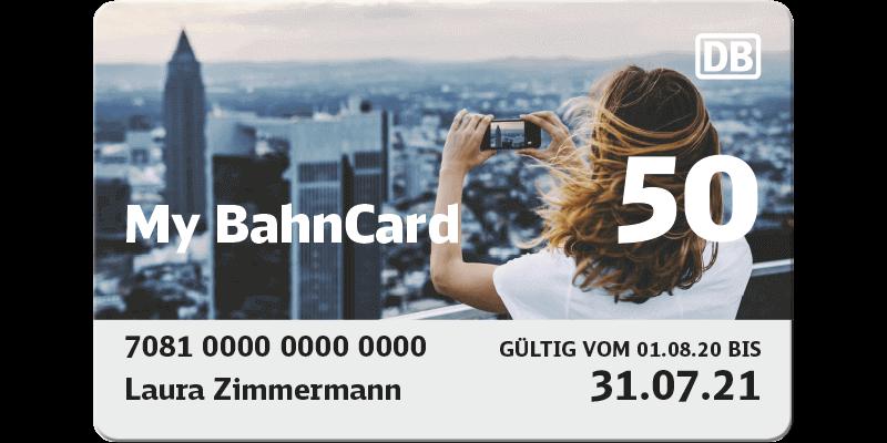 Bahncard 25 Auf 50 Upgraden