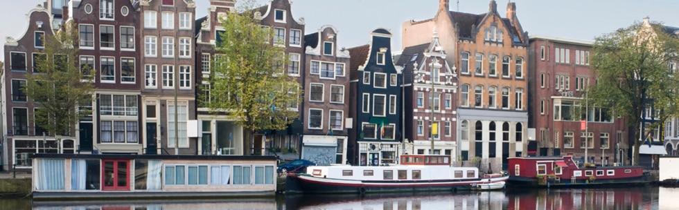 Mit dem Zug nach Amsterdam