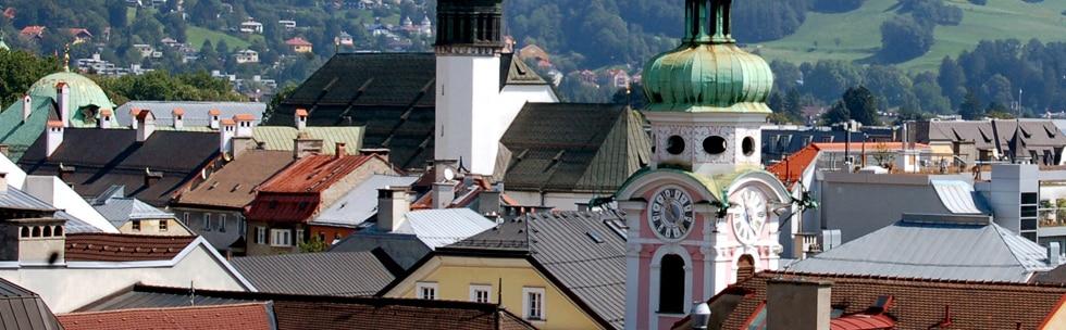 Mit dem Zug nach Innsbruck